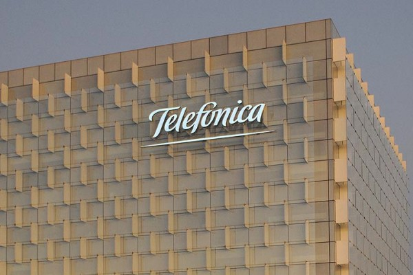 Telefonica logo office
