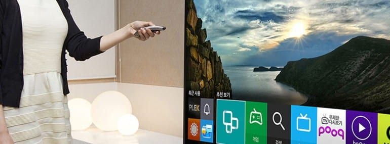 The new Samsung smart TV powered by Tizen