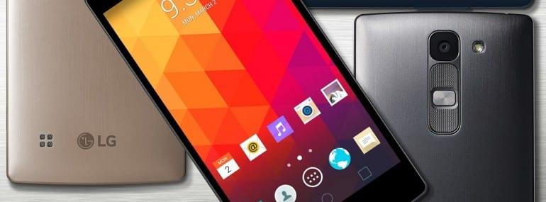 LG MWC 2015 handsets