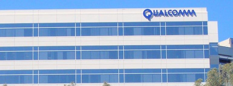 Qualcomm logo office