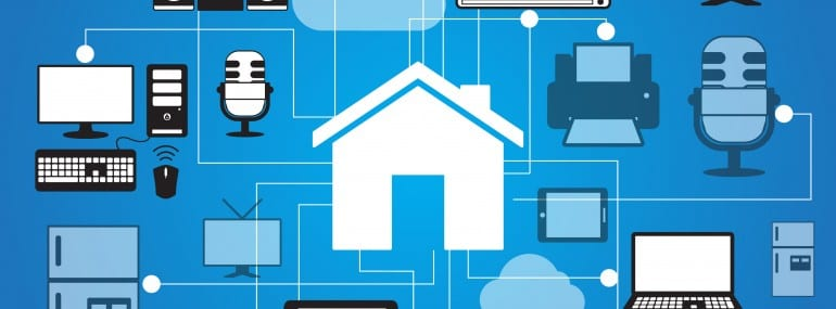 Smart Home IoT Connected Home