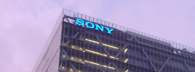 Sony logo office