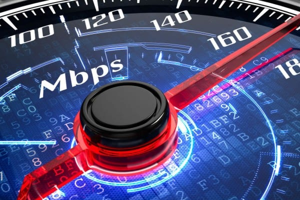 Internet speed gbps mobile