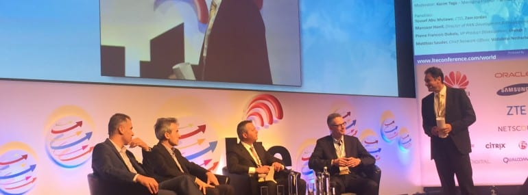 EE Vodafone Zain LTE Panel