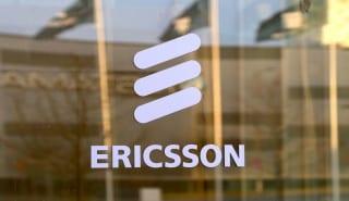 Ericsson logo window