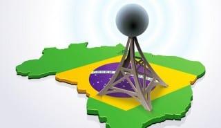 Brazil telecoms antenna