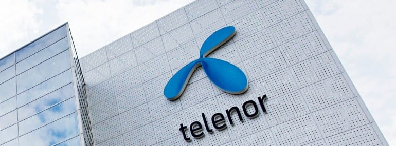 telenor office logo