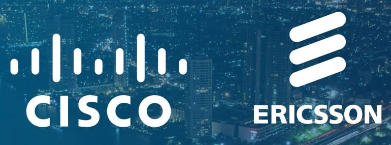 Cisco Ericsson logo