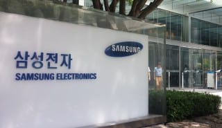 Samsung electronics office logo