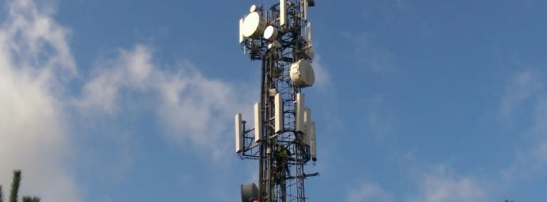 telecoms radio mast