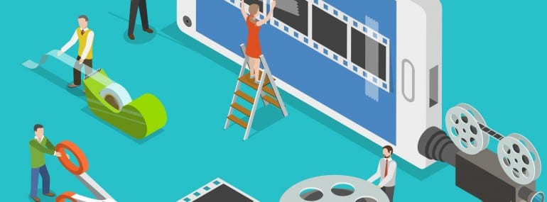 Mobile video content apps edge