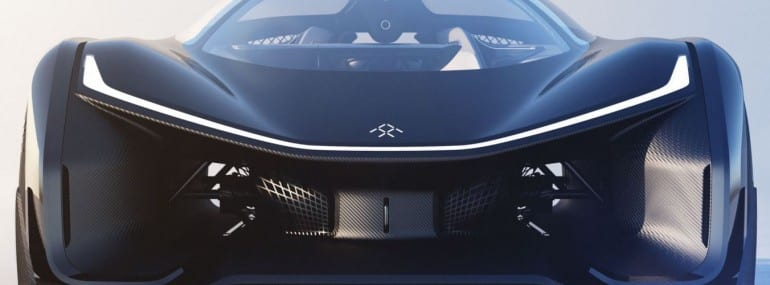 Faraday Future Connected Car 2