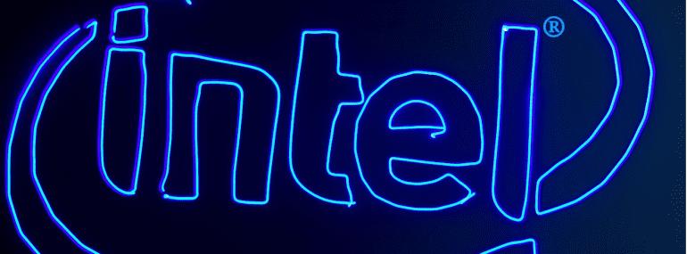 intel ascending drone logo