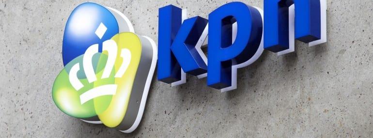 KPN logo building