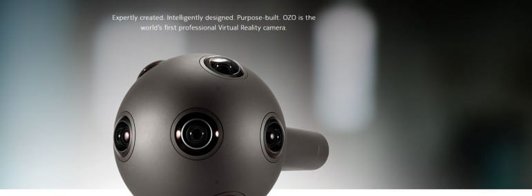 Nokia OZO virtual reality