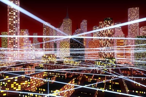 Smart energy IoT grid cities