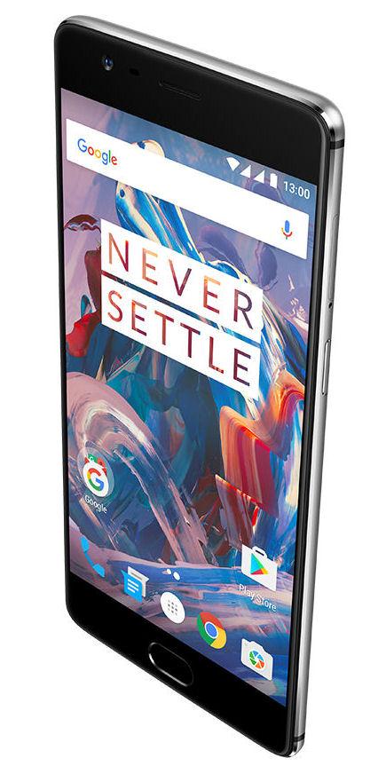 OnePlus 3 angled