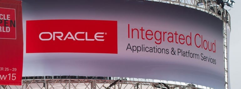 Oracle integrated cloud