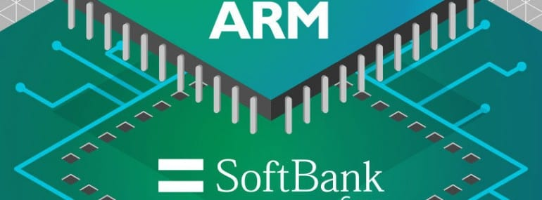 ARM Softbank logos