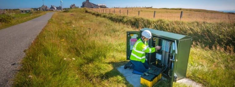BT Openreach Broadband Rural
