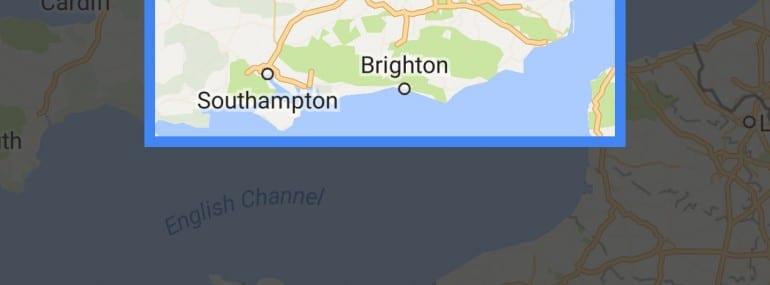 Google Maps screenshot