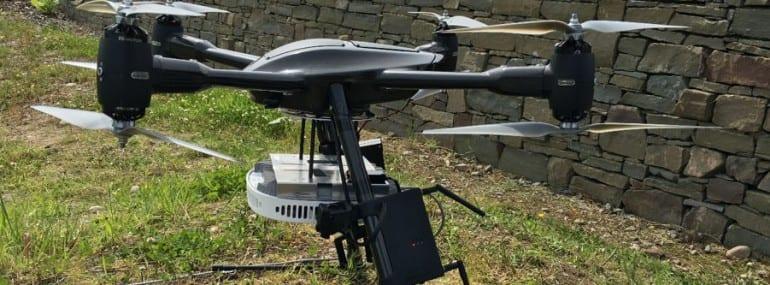 Nokia EE drone