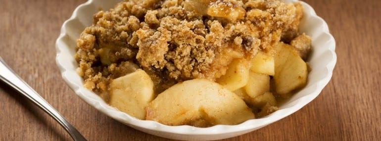 Apple Crisp or Apple Crumble Dessert
