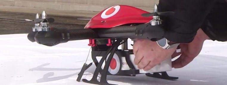 vodafone phone drone
