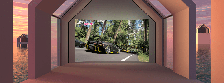 Xbox Oculus Rift Forza 5