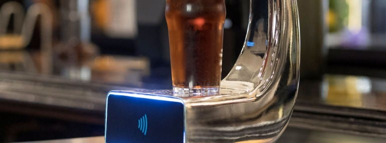 Barclaycard contactless beer 2