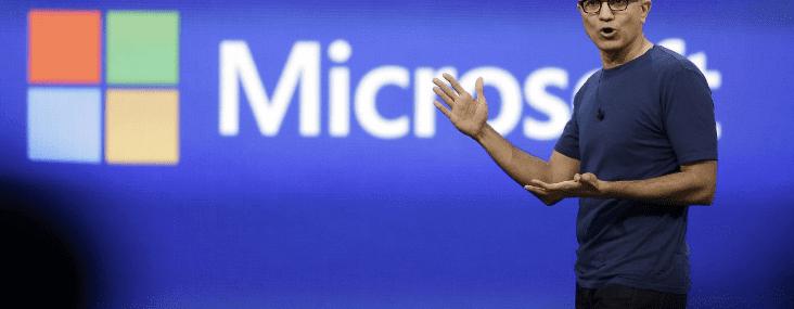 Microsoft Azure Satya Nadella