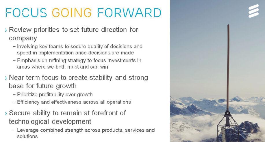 Ericsson Q4 2016 earnings slide 5