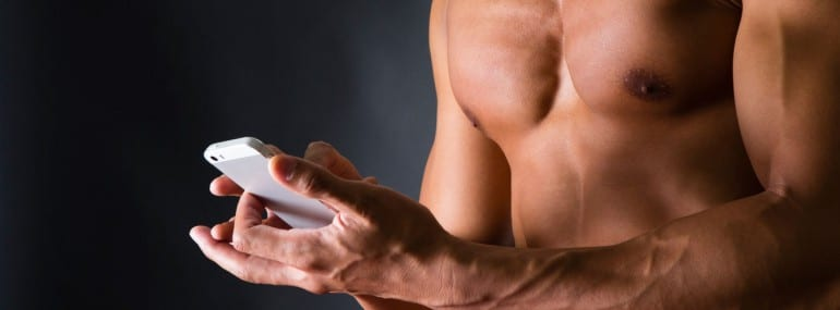 smartphone strong muscles hand