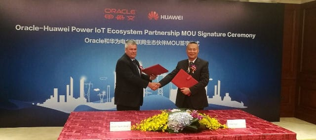 Huawei Oracle mou