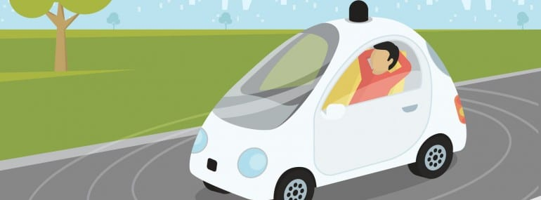 Self-Driving Driverless Autonomous