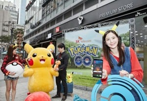 SK Telecom resorts to Pokémon Go partnership in bid to build buzz