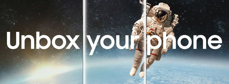 Samsung Galaxy S8 unbox