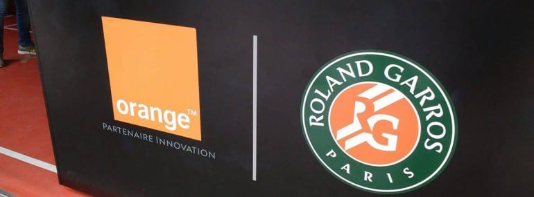 Orange Roland Garros