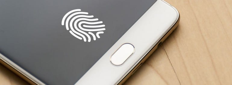 smartphone fingerprint scanner