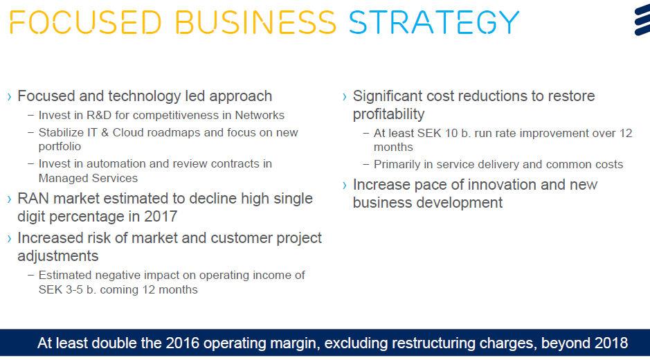 Ericsson Q2 2017 strategy