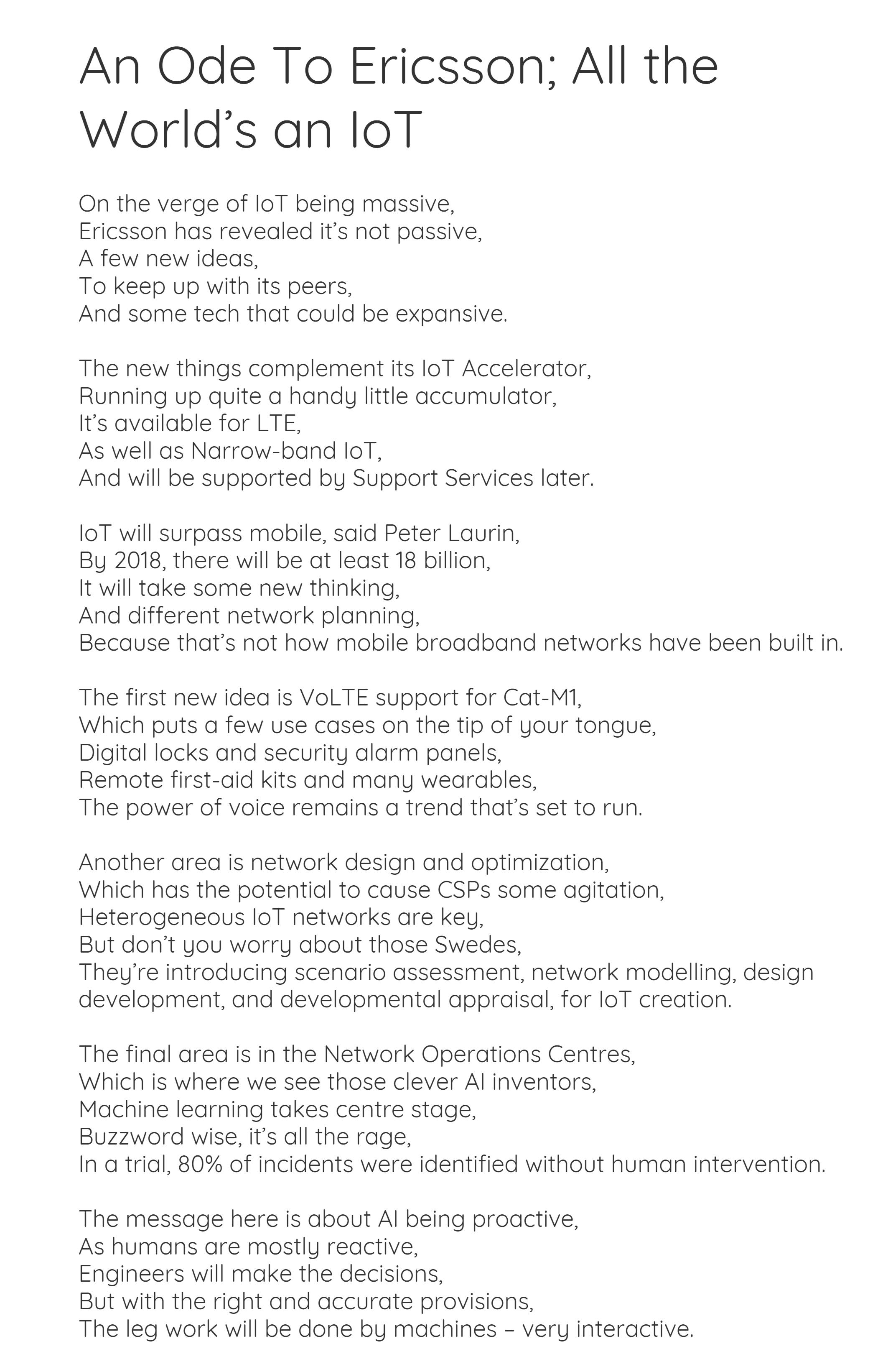 Ericsson poem 3