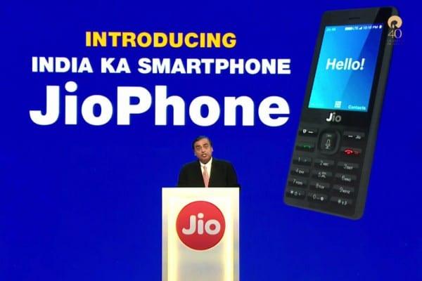 Jiophone launch