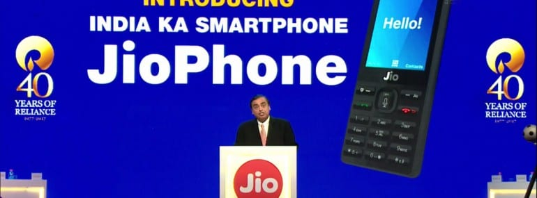 Jiophone launch