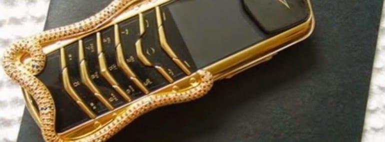 Vertu signature cobra