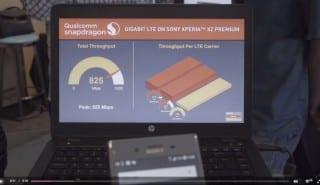 Wembley gigabit LTE speedtest