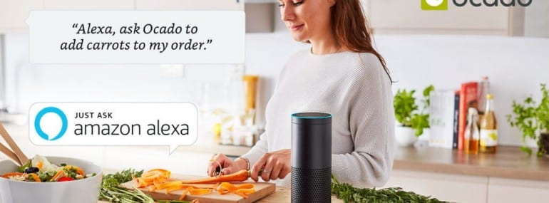 Amazon Alexa Ocado
