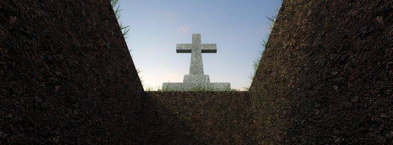 grave hole