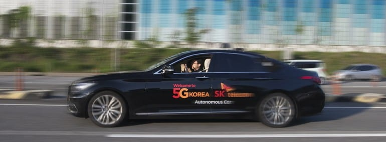 SK Telecom Driving