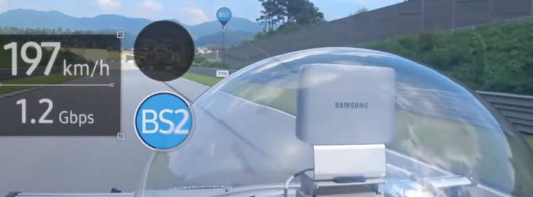 Samsung KDDI 5G test