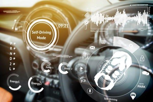 autonomous connected car